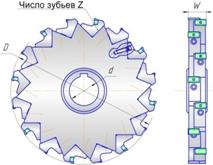 фреза дисковая трехсторонняя оршанский инструментальный завод